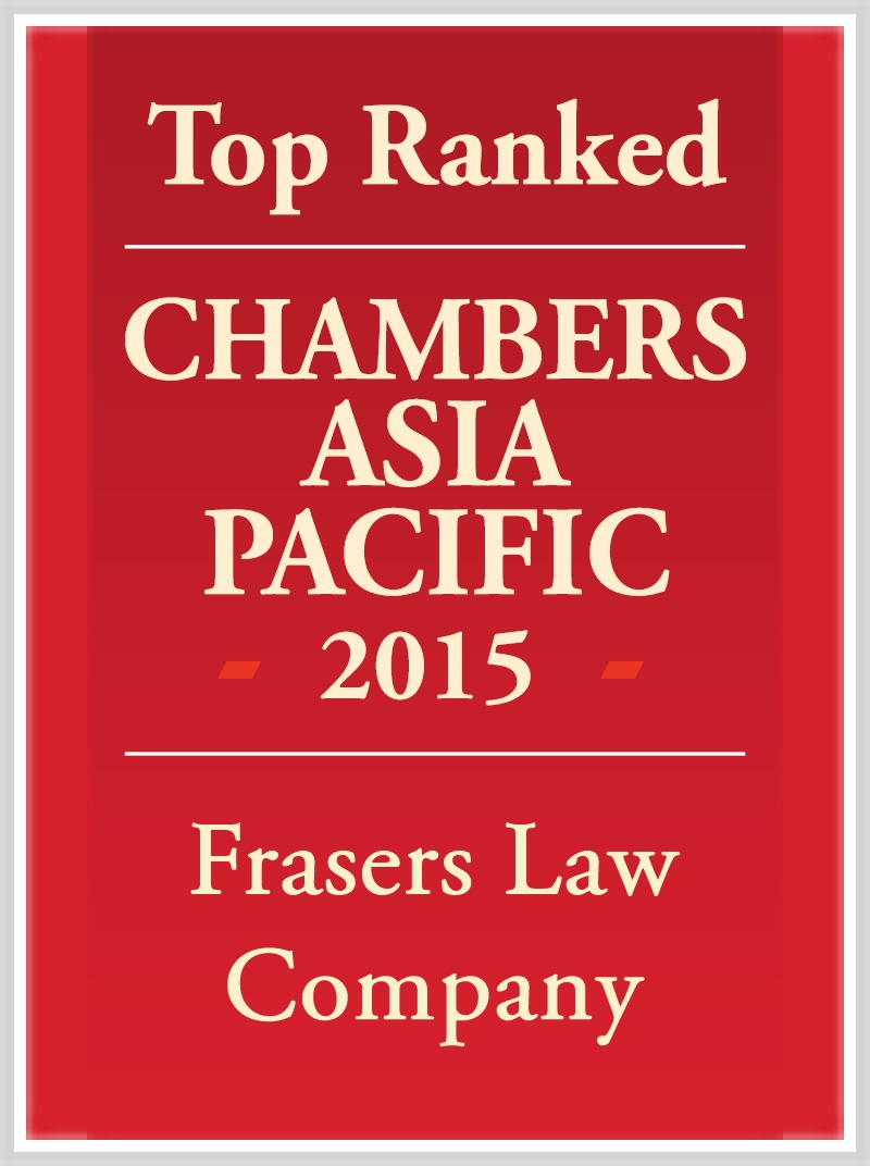 2015 Chambers Asia Pacific Top Tier